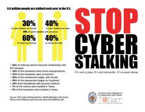 cyberstalking brochure